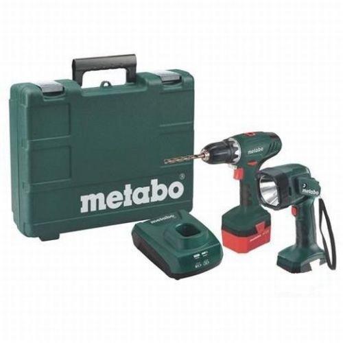 [Ebay WOW] Metabo Akkuschrauber BS12 NiCd. incl. Handlampe