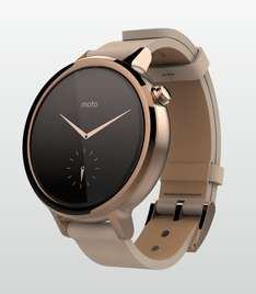 Motorola Moto 360 Women (2nd Gen - 2015) 42mm für 283,70€ - Amazon it