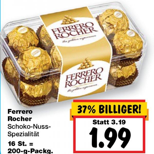 [Kaufland bundesweit] Ferrero Rocher 200g nur 1,99 € ab 26.11.15