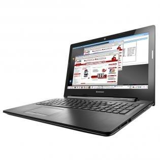 Lenovo G50-80 (15,6 Zoll HD, Core™ i7-5500U, 4GB Ram, 508GB SSHD, AMD® Radeon™ R5 M330, HDMI, WLAN 802.11 a/c, DVD Brenner für 479€ @Redcoon.de