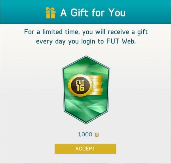 Kostenlose FIFA 16 Ultimate Team Geschenke