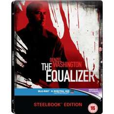 The Equalizer - Limited Steelbook (Blu-ray) (OT) für 8,65€ bei Zavvi.de