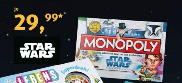 """[Aldi-Süd] Monopoly Star Wars """"The Clone Wars""""-Edition für 29,99€ (Vgl. 39,99€) am Samstag 28.11.2015"""
