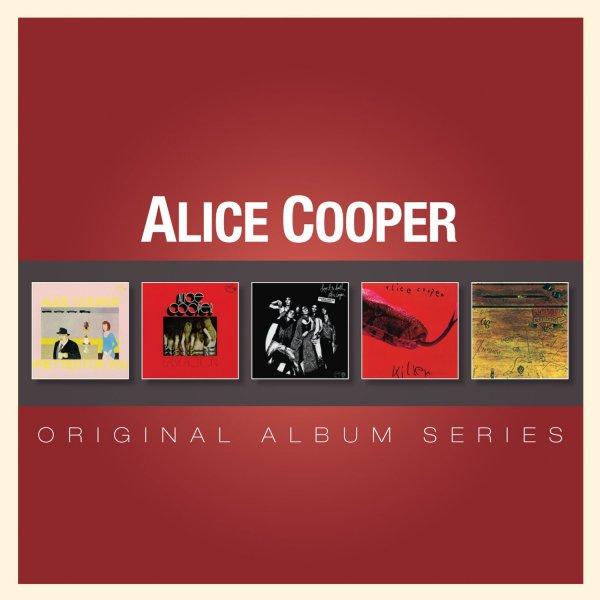 Amazon Prime : CD Alice Cooper- Original Album Classics 5 er Box-Set - Nur 9,99 €