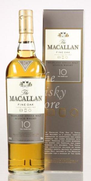 [whisky.de]: Macallan Fine Oak 10: 64,85€