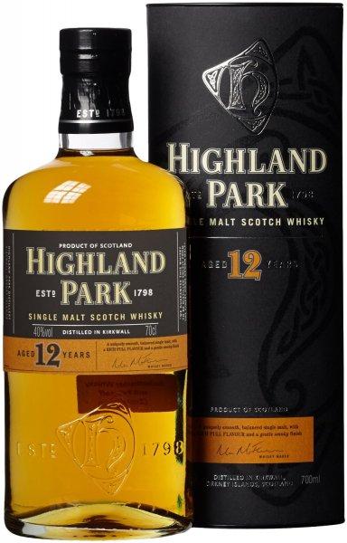 [Amazon Prime] Highland Park 12 Jahre Single Malt Scotch Whisky (1 x 0.7 l)