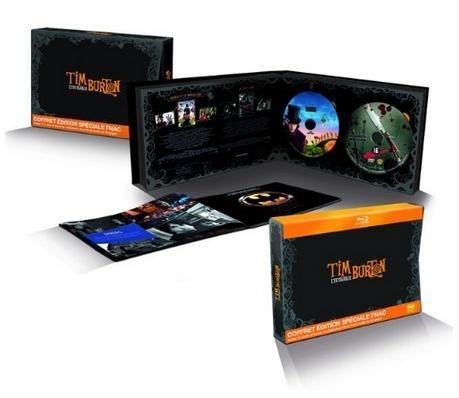 Tim Burton Collection - Special Edition Box Set 15 Filme - Exklusiv Limited Edition Fnac auf 1500Stk (Blu-ray+DVD)
