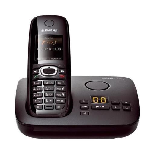 SIEMENS GIGASET C595 TELEFON SCHNURLOS ANALOG DECT mit ANRUFBEANTWORTER @ebay 49,99€