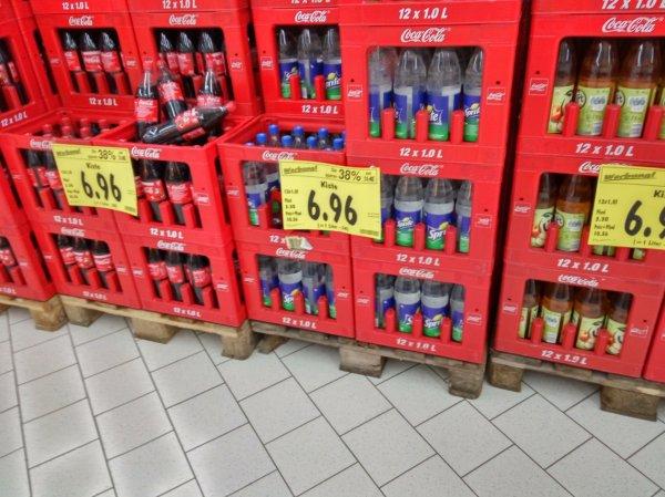 CocaCola bei Kaufland 38% günstiger!