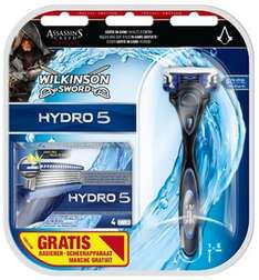Wilkinson Sword Hydro 5 + 5 Klingen und Assassins Creed Syndicate Content für 8,99€