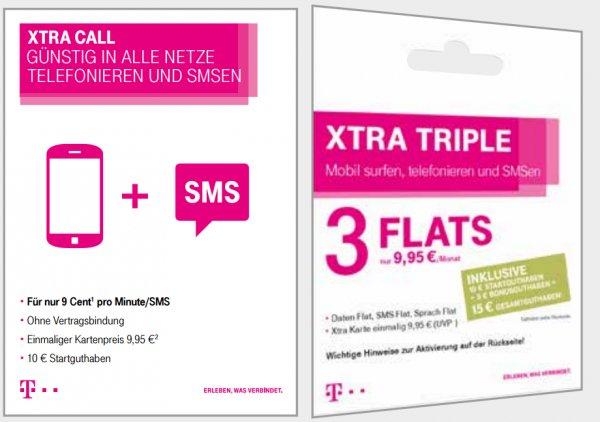 [EXPERT KLEIN] Telekom Xtra Starterkarte mit 10€ Guthaben für 4,99€