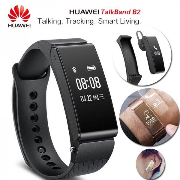 [Amazon.es] Huawei Talkband B2 (Smartwatch + Fitnesstracker + BT-Headset) für Android & iOS für 116,80€