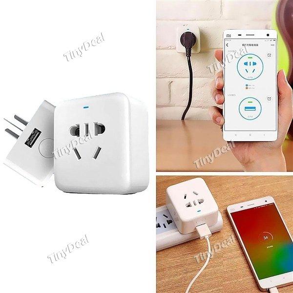 Original Xiaomi Smart Plug Mini WLAN intelligente Steckdose für EU/US/AU bei tinydeal