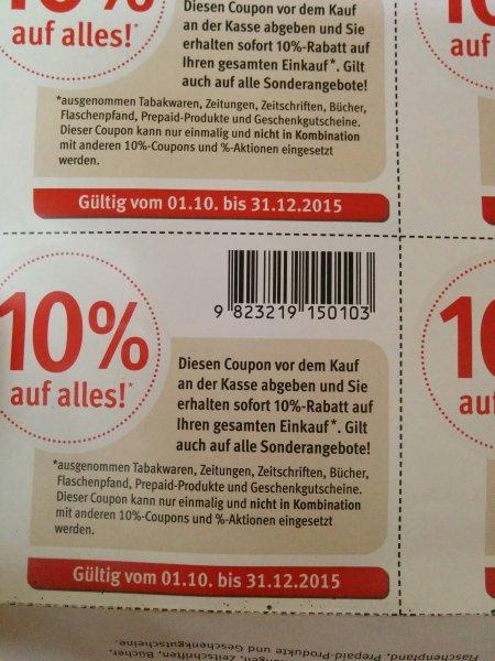 Rossmann 10% auf alles