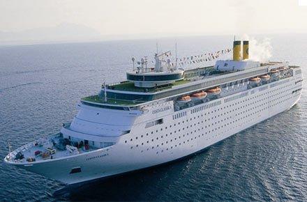Kreuzfahrt Mittelmeer : 13 Tage mit der Costa neoClassica vom 07.01.-19.01.2016 ab 199/295/398 Euro