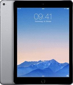 Preisupdate! eBay rebuy: iPad Air 2 Wi-Fi 64 GB spacegrey Gebrauchtware (certified by Apple)