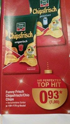 [Metro] Funny Frisch Chipsfrisch Chio Chips 150g oder 175g Beutel