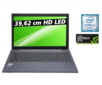 [One] K56-6D Notebook Intel i3-6100H (Skylake) 2048 MB NVIDIA Geforce GT 940M 4096MB DDR3 1600MHz 500GB SATA III 7200upm 8x DVD+RW Brenner ohne OS
