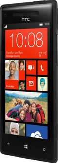 [Ebay] HTC 8X Windows Phone (4,3'' HD IPS, Snapdragon S4 Pro 1,5GHz, 1GB RAM, 8GB intern, 2MP + 8MP mit AF und LED, 1800 mAh, Update auf Windows 10 Mobile) für 79,99€