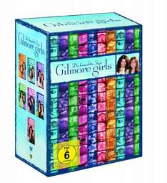 [amazon.de] Gilmore Girls - Komplette Serie auf DVD für 46,97 € statt idealo 69,99 €