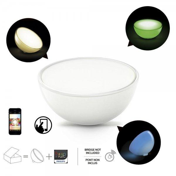 [Amazon] Philips Hue Go Wireless Lighting (tragbares, kabelloses Licht mit 12W; mit App steuerbar) für 65€