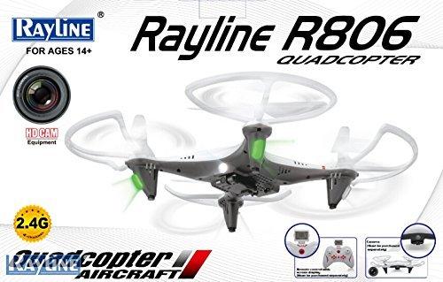 [ebay] Rayline R806 Ufo Quadrocopter Drohne 2,4 GHz weiß HD Kamera + 15-fach Payback