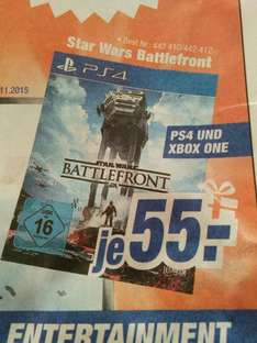 (LOKAL) Schwabach Star Wars Battlefront PS4+XO