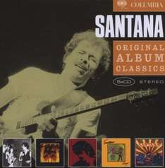 Amazon Prime : CD Santana - Original Album Classics 5 er Box-Set - Nur 9,99 €
