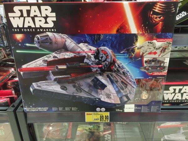 Star Wars E7 Battle-Action Millennium Falke von Hasbro