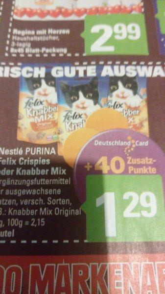 EDEKA+MARKTKAUF+WEZ (Hannover/Minden) Felix Knabbermix für effektiv 0,39 € pro Tüte!
