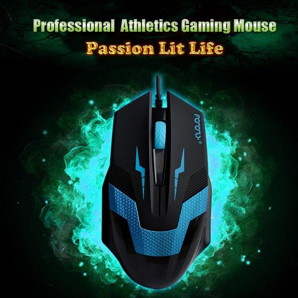 [Ebay] Wieder da !!! Optische 1600DPI USB 2.0 Wired Gaming Mäuse Game-Maus LOL CS CF für Laptop PC inkl. Versand für 1 Euro !!!