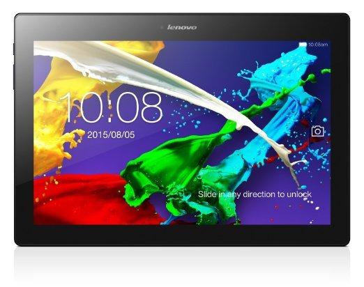 Lenovo Tab2 A10-30 - 10,1'' Full-HD IPS-Display, 4x 1,5 GHz, 2GB RAM, 16GB Speicher (erweiterbar), GPS, Android 4.4 (Update auf 5.0) schwarz inkl.Vsk für 175,02 € @ Amazon.fr > Blitzangebot