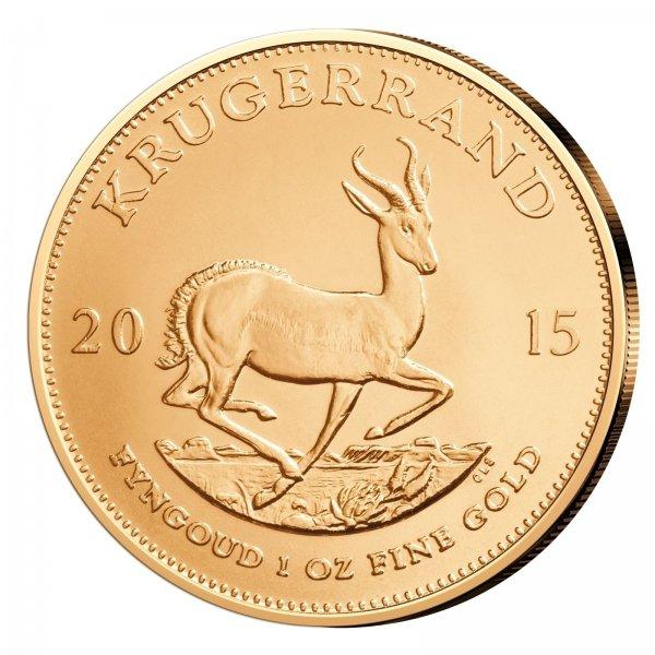 ebay [Castellgold] - Goldmünze 1oz Krügerrand 2015 zum Spotpreis