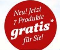 @GEFRO  Sieben Produkte als kostenloses Kennenlernpaket - Erinnerung