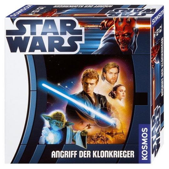 Star Wars - Angriff der Klonkrieger (Gesellschaftsspiel, Brettspiel, Kosmos, real.de)