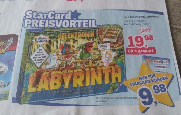 Toy's r Us ab 26.11. Das Elektronik Labyrinth für 9,98 € mit StarCard