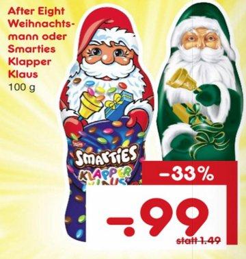 [NETTO MD] Smarties Klapper Klaus 100g für 0,99€ (Nur Samstag)