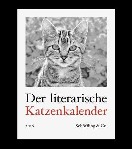 Bücher.de - Der literarische Katzenkalender 2016 - 16,95 € statt 21,95 € ( Gutschein)