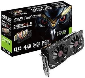 Asus Nvidia GeForce Strix GTX970-DC2OC-4GD5 für 329€ auf Amazon
