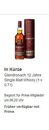 [Amazon] Whisky Glendronach Original 12 Jahre im Blitzangebot für 26.99€