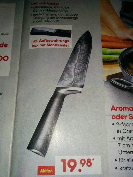 Damast Messer  20€