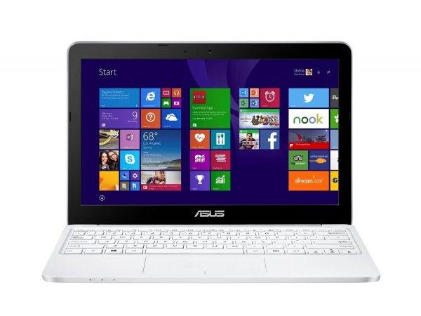 [Amazon] Asus F205TA-FD006xTS 29,5 cm (11,6 Zoll) Notebook (Intel Atom Z3735F, 2GB RAM, 32GB eMMC, HD Graphic, Win 10 Home) weiß/blau/rot