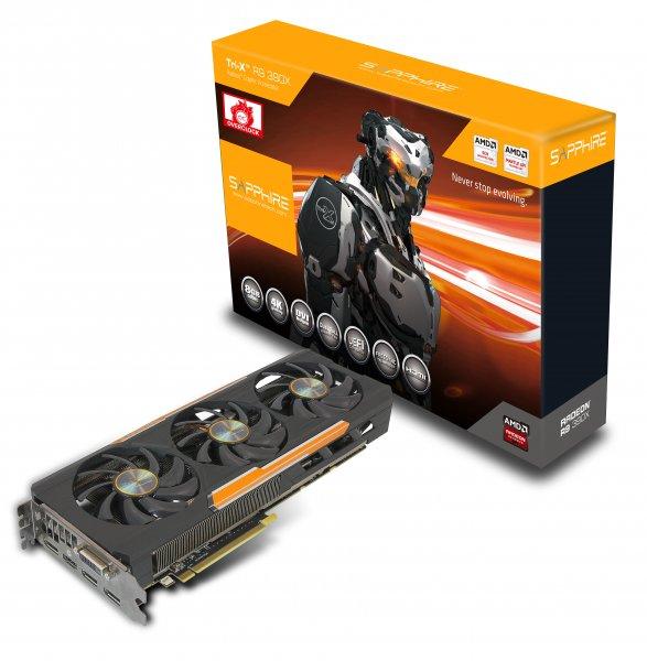 Sapphire AMD Radeon R9 390X OC Tri-X + 15fach Payback