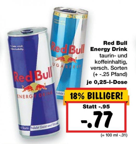 [Kaufland-Dortmund] RedBull energy drink