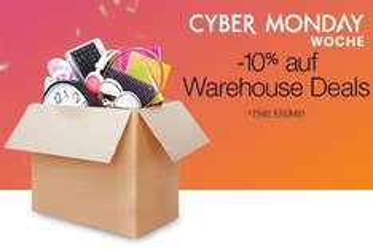 [Amazon] 10% auf ALLE Warehouse-Artikel, 15% auf ausgewählte Artikel