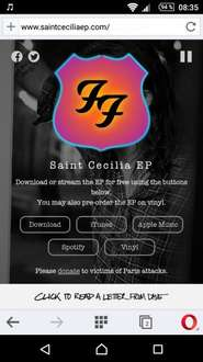 Foo Fighters Saint Cecilia Ep For Free 5 Songs Zum