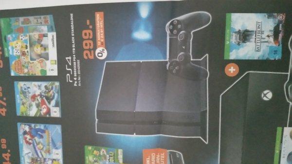 PS4 1TB für 299€ bei Saturn (Mönchengladbach)