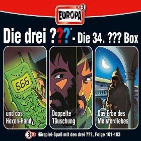 Amazon: MP3 Hörspiel(boxen): Die Drei Fragezeichen / Die Drei Ausrufezeichen / Die Drei Fragezeichen Kids (effektiv 1,66€ pro Folge)