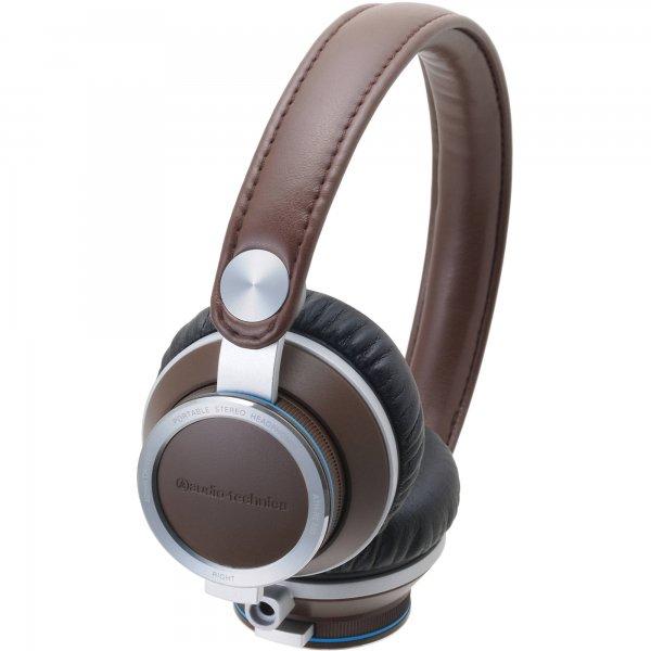Audio Technica ATH-RE700BW portable Kopfhörer Retro Style Braun für 79 € > [amazon.de marketplace]