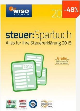 [Download-Software] WISO steuer: Sparbuch 2016 - Buhl - mysoftware.de - 20,89.- Euro